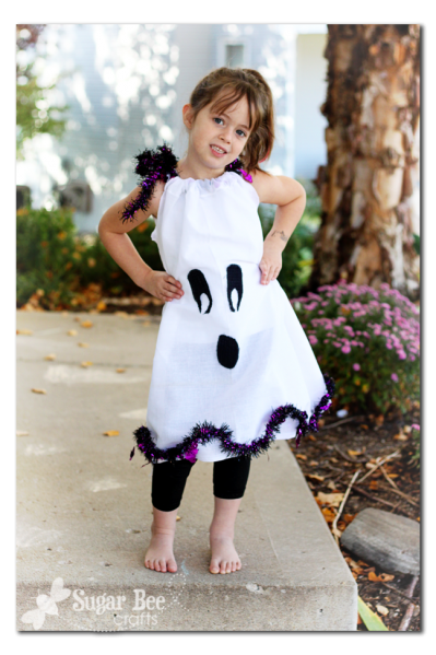 """ghost dress, Princess declared """"I dont like ghosts"""" sigh"""