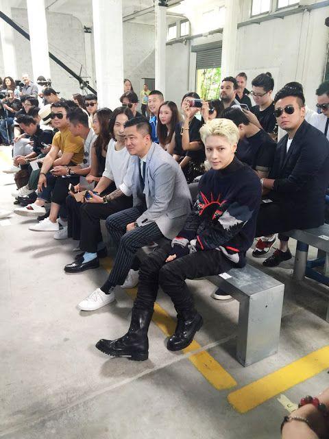 SHINee's Taemin Attends Diesel Black Gold SS17 Menswear Show   Koogle TV
