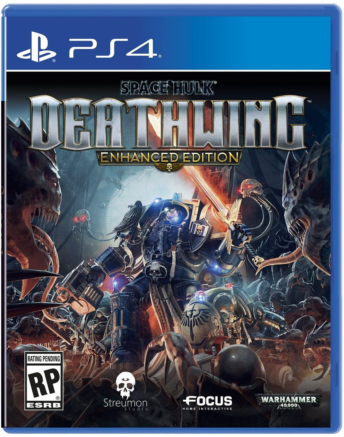 Kết quả hình ảnh cho Space Hulk  Deathwing Enhanced Edition cover ps4