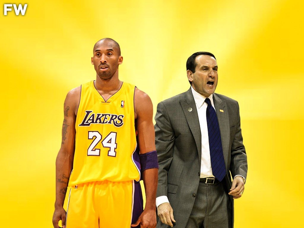This Article Is Brought To You By Fadeawayworld Net To Read More Fadeawayworld Via Fadeaway World Famous Duke Coach M In 2020 Nba Funny Kobe Bryant Mike Krzyzewski