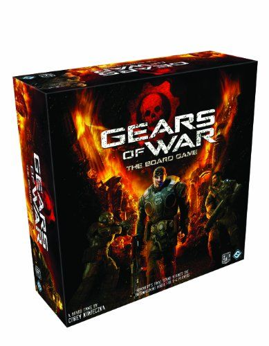 Gears Of War The Board Game Gears Of War Board Games Board
