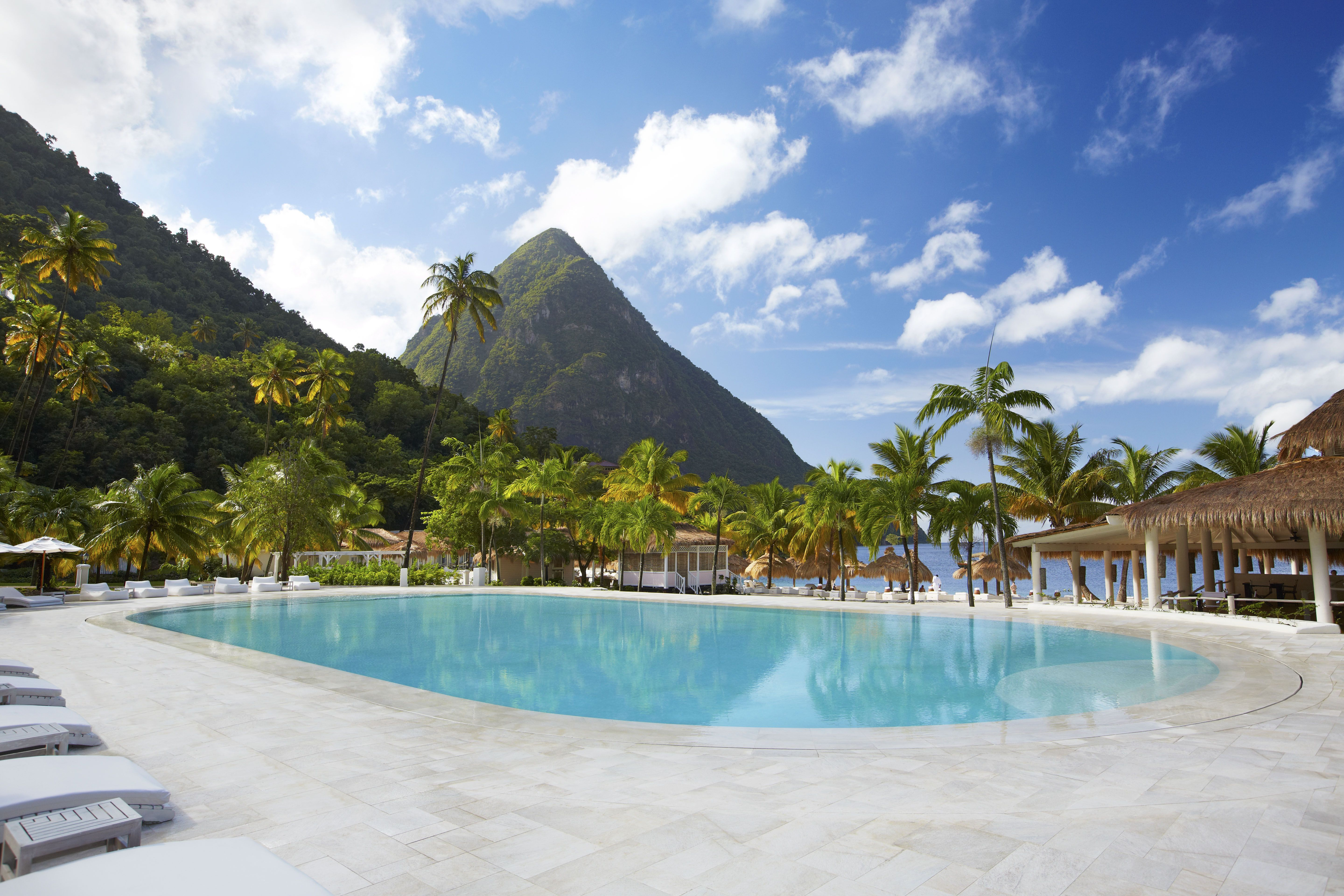 Sugar Beach A Viceroy Resort St Lucia Hotels Soufriere St Lucia Forbes Travel Guide Perfect Beach Vacation St Lucia Resorts Sugar Beach St Lucia