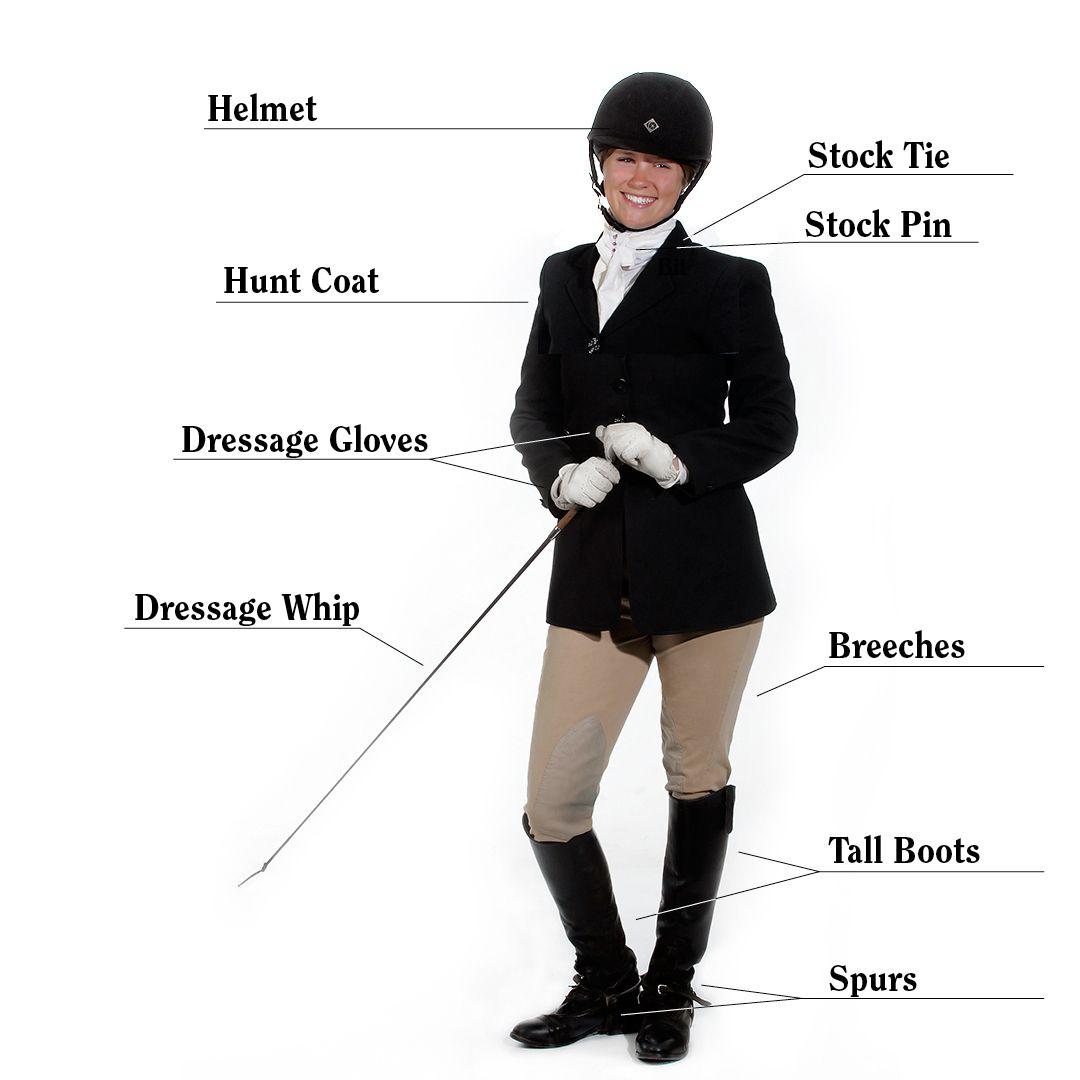 Dressage Attire Dressage Glenlyon Pony Club