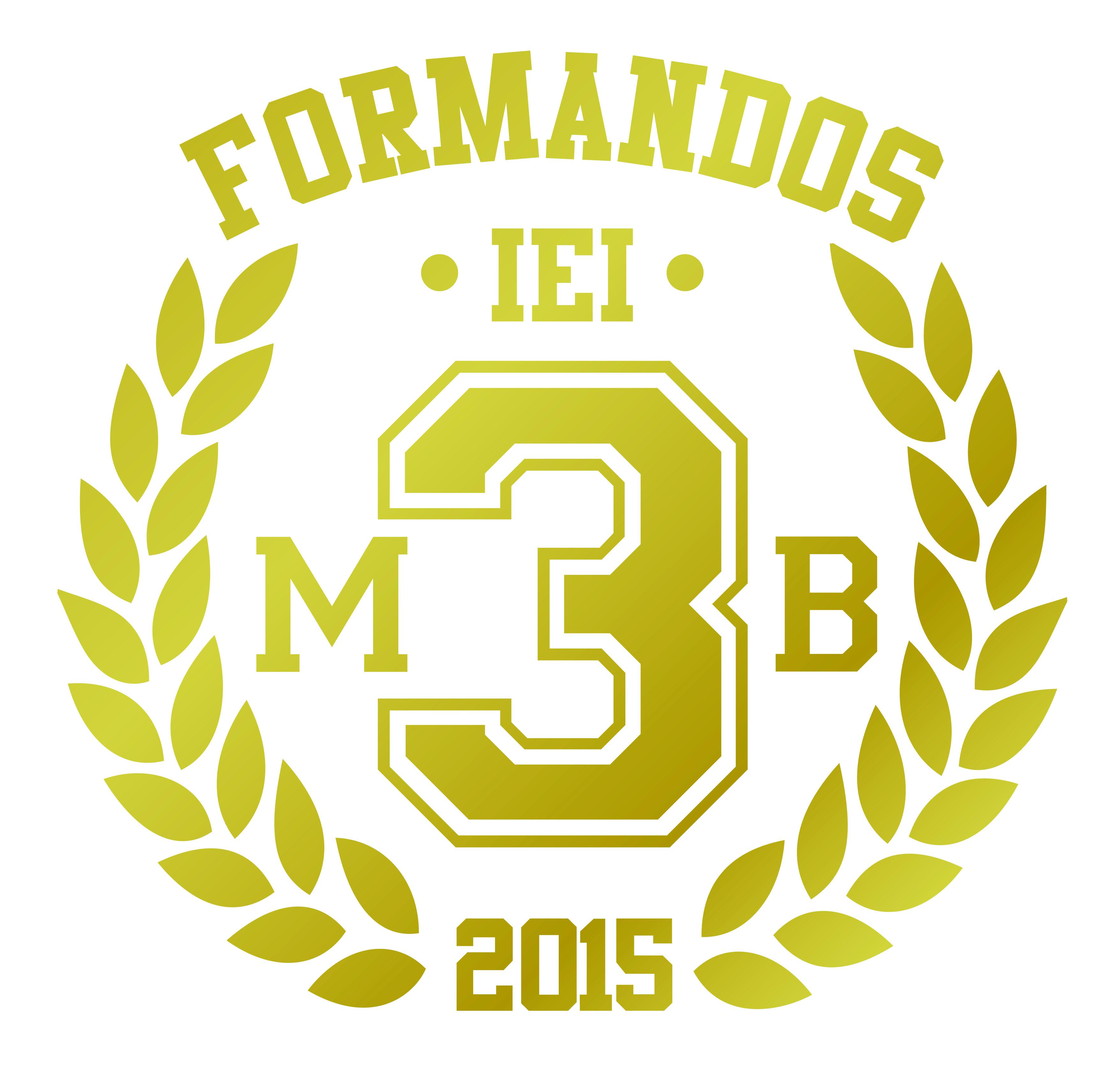 Logotipo da turma de terceiro ano #logo #class #turma #terceirao #escola