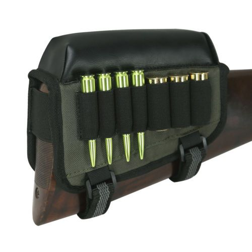 Tourbon Shotgun Bullets Bag Ss Holder Cheek Riser Rest Stock Right