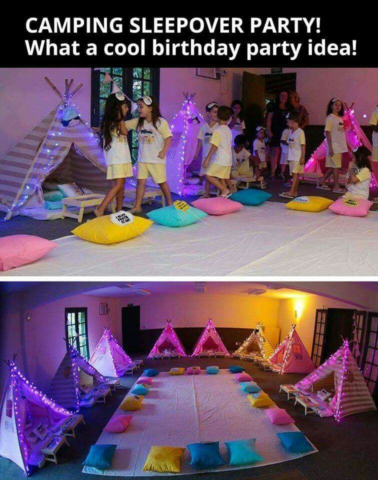Camping sleepover shopkins birthday parties party ideas for girls tween slumber also theme in rh pinterest