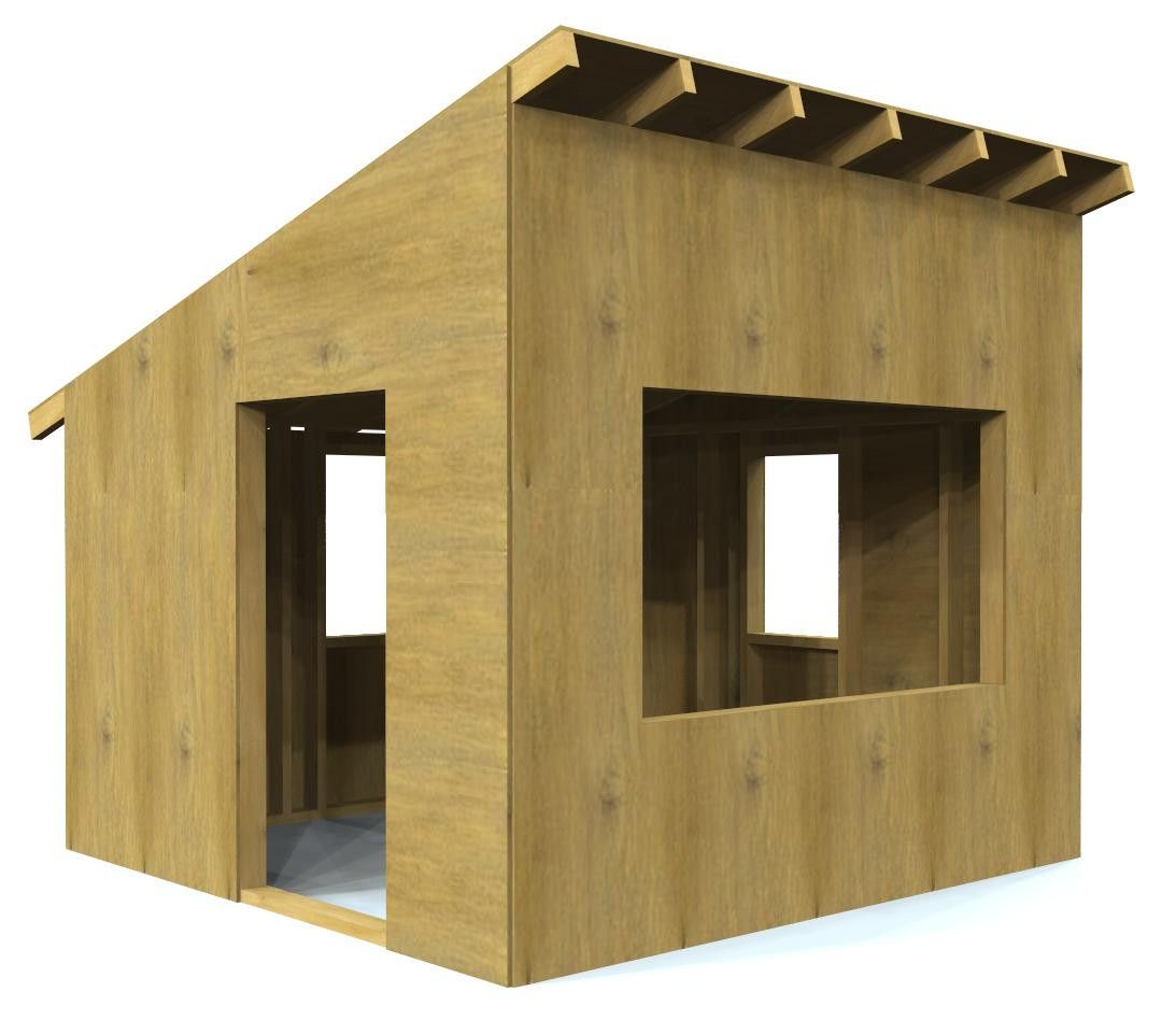 Paul S Outdoor Hideaway Play Houses Shed Roof Design Shed Plans