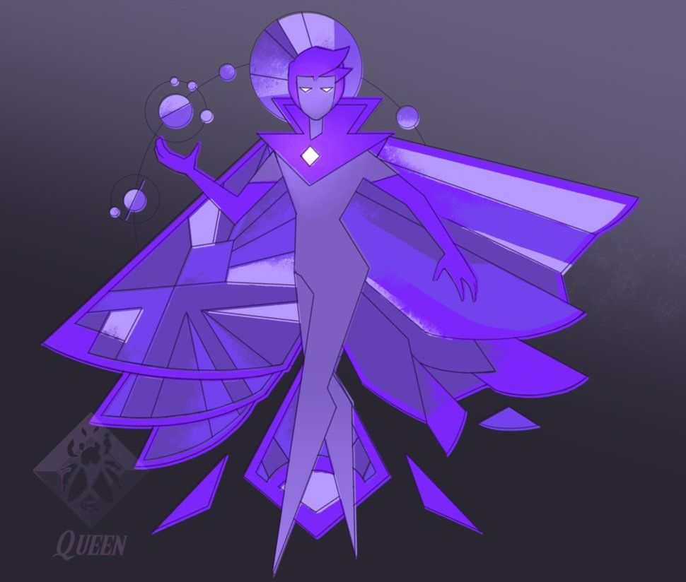 thezodiaclord on purple deviantart diamond cm art by speedpaint
