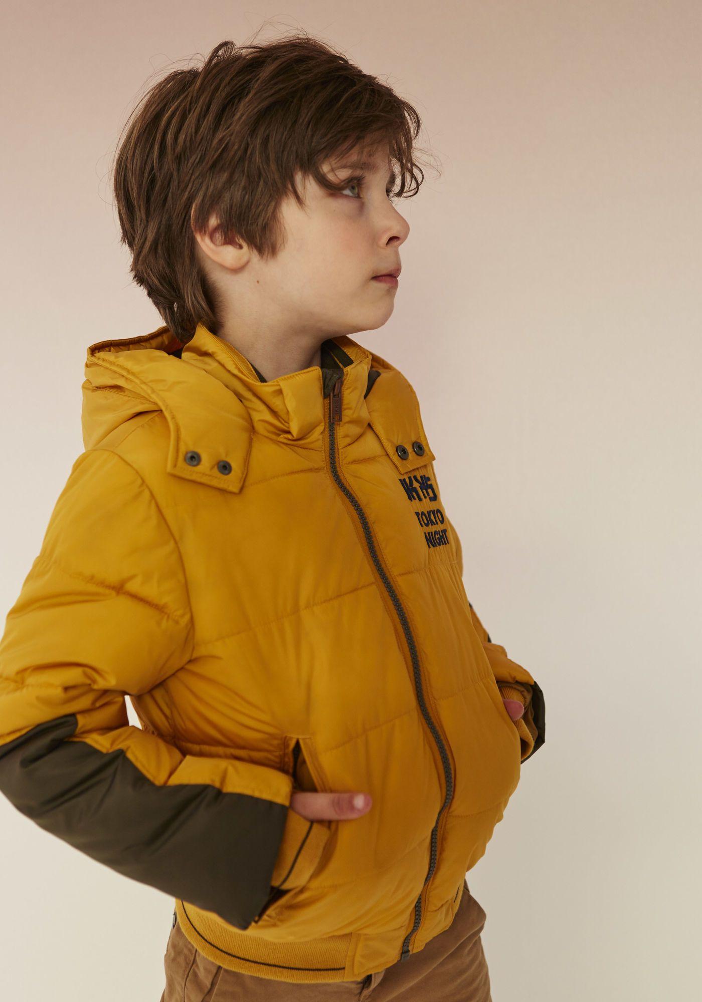 la meilleure attitude d171e 09056 Doudoune jaune garçon IKKS | Mode Automne Hiver Manteau ...