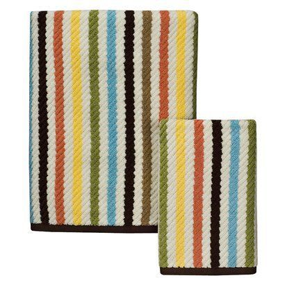 Circo Elephant Stripe Bath Towel - (30x54