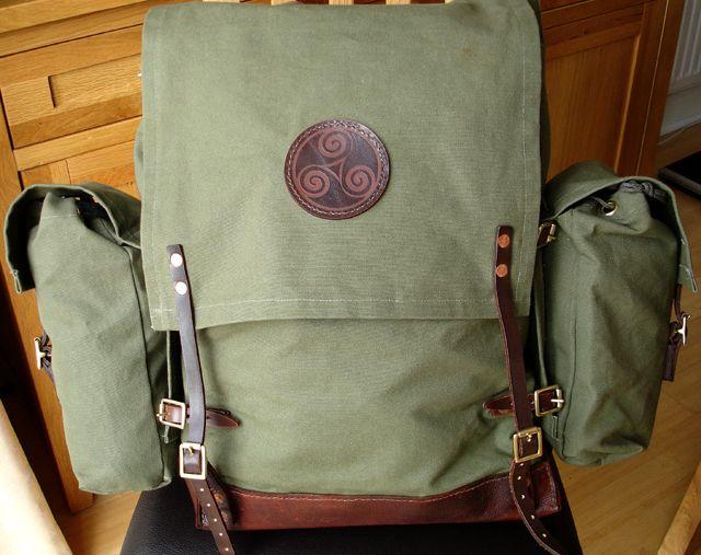 Another On Bushcraft Diy Bags Inspiration Diy Backpack Diy