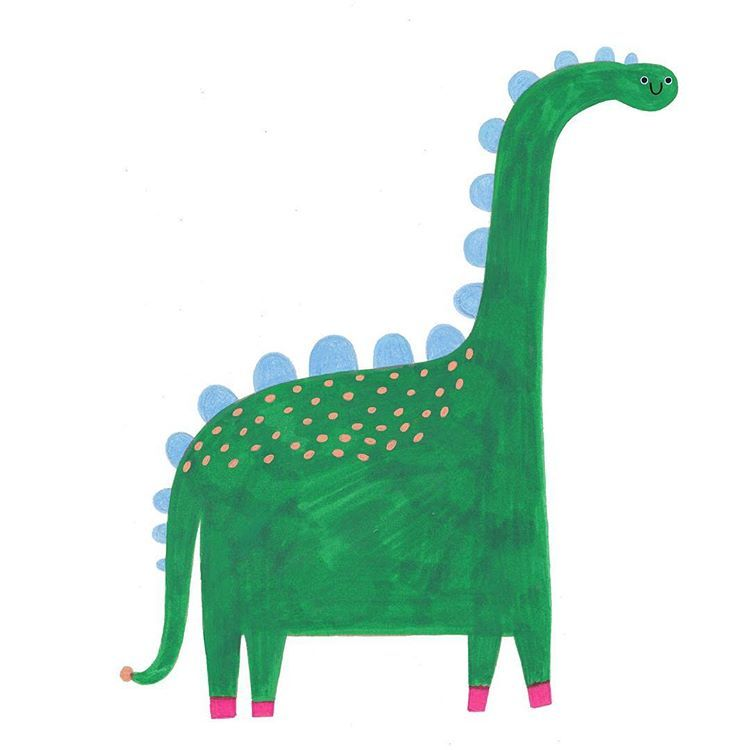 "️️️ on Instagram: ""This green friend of mine is going to be found in @_dontgrowup_ very soon! #dinosaur #kids #fashion #textiles #illustration #drawing…"""