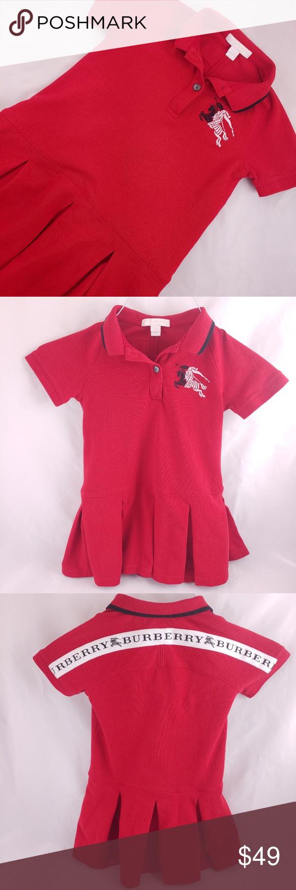 Burberry MOLLYANNA Girl Dress 100% Cotton | Dress 100 ...