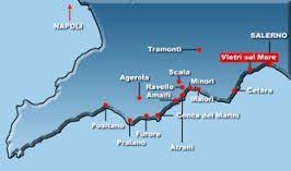 Furore Italy Map.Map Vietri Sul Mare Italy Pinterest Italy Amalfi Coast And