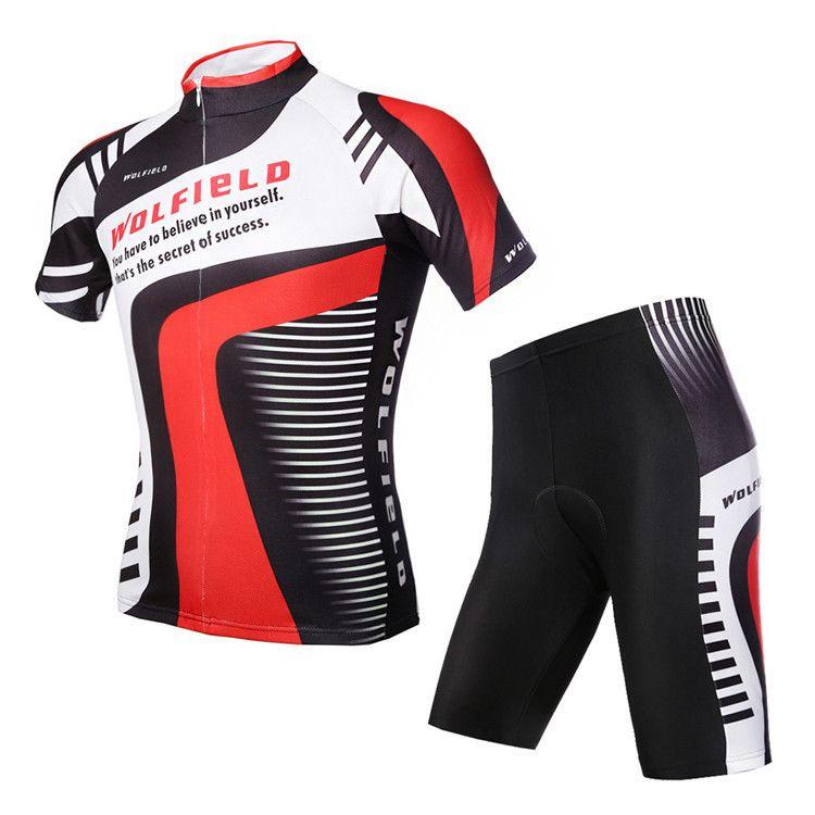 Summer Womens Cycling Jersey Set Short Sleeve Womens Cycling Jersey All Size