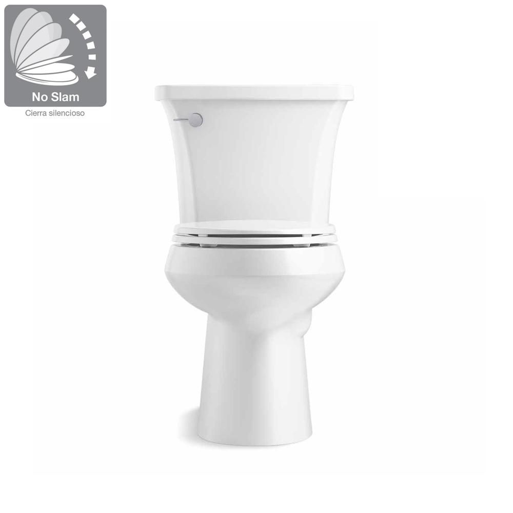 Kohler Highline Arc The Complete Solution 2 Piece 1 28 Gpf Single Flush Elongated Toilet In White Slow Close Seat Included K 78279 0 In 2019 Toilet Water Efficiency Home Depot