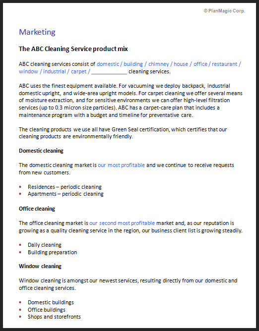 Janitorial Services Proposal Template Freshproposal Cleaning