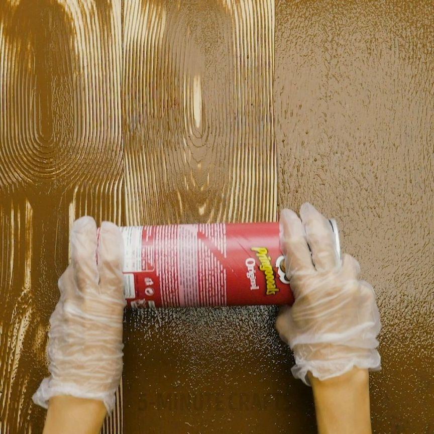 #5minutecraftsvideos | Diy wall design, Wall painting, 5 ...