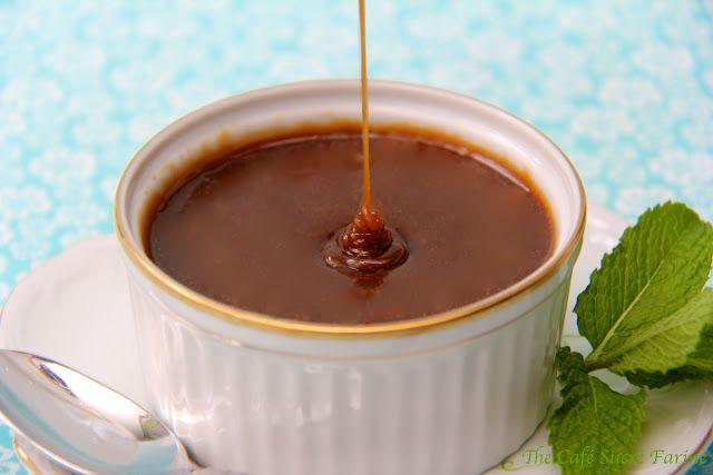 Biscoff caramel sauce
