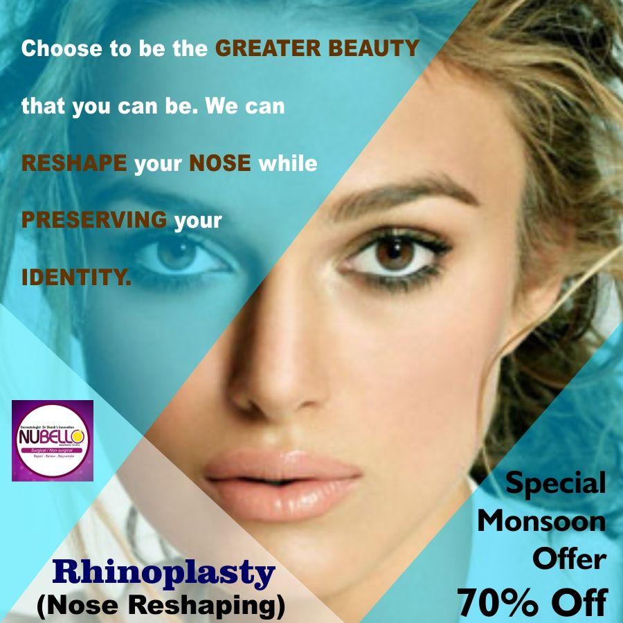 Rhinoplasty in Mumbai , Nose Job , Nose Reshaping , Nose
