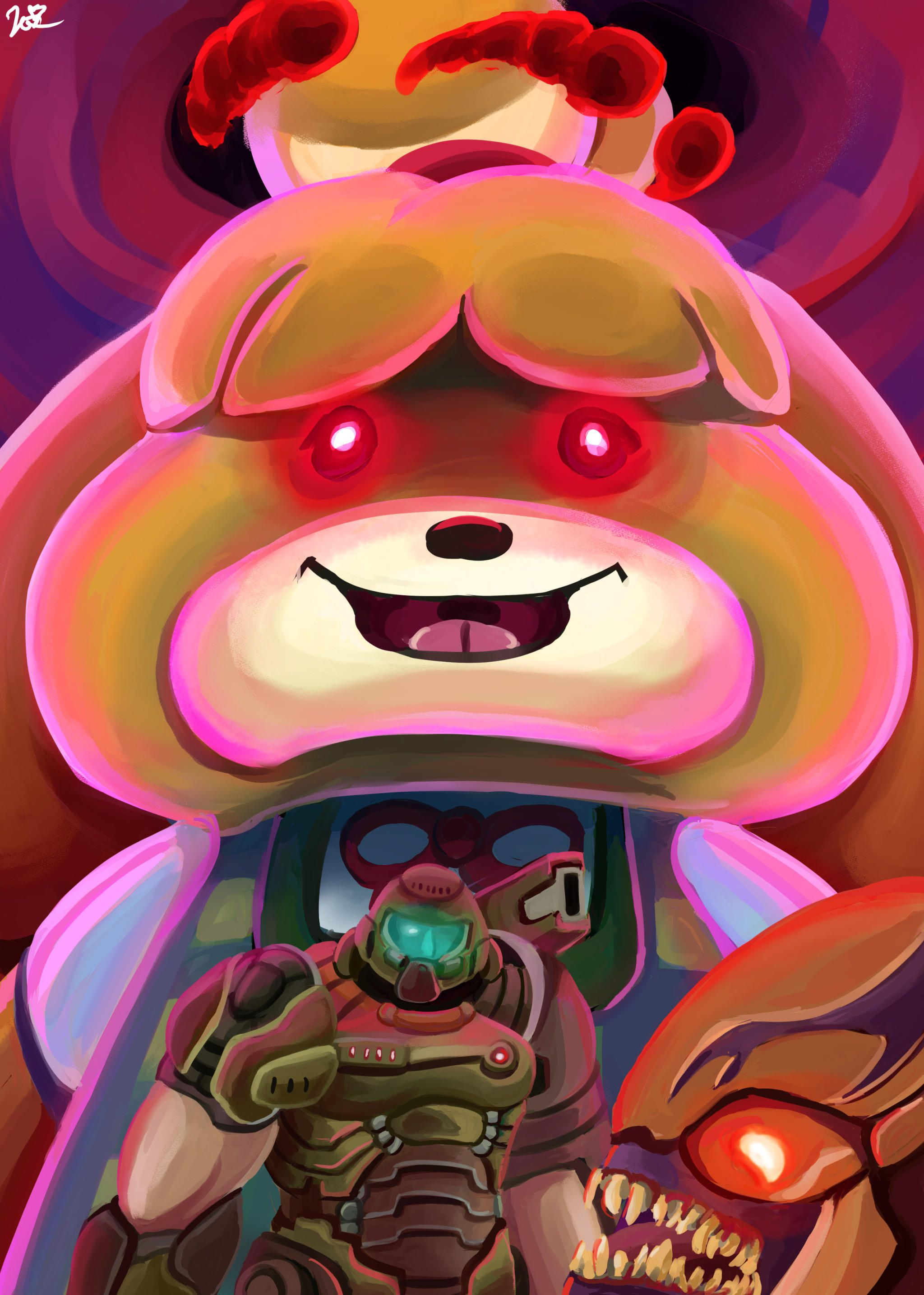 Dynamax isabelle Animal crossing funny, Rainbow six