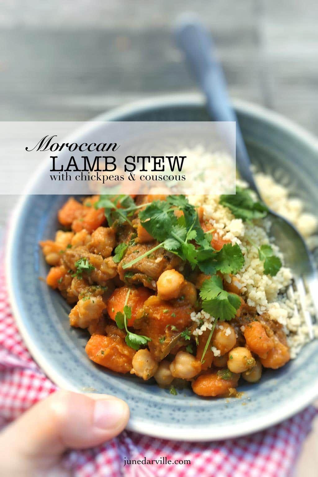 Moroccan Lamb Stew Couscous