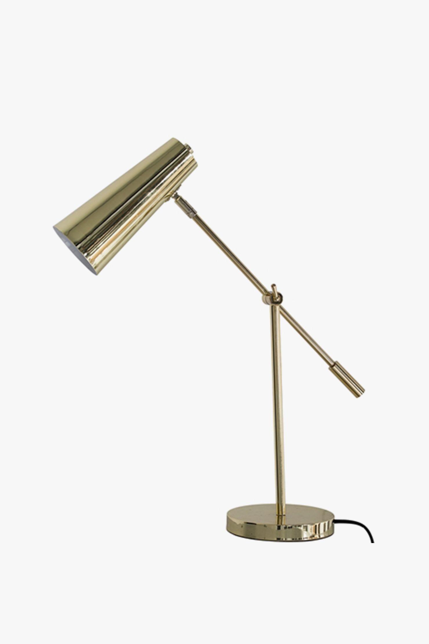 lampe de table dorée - Bloomingville | NEED | Pinterest