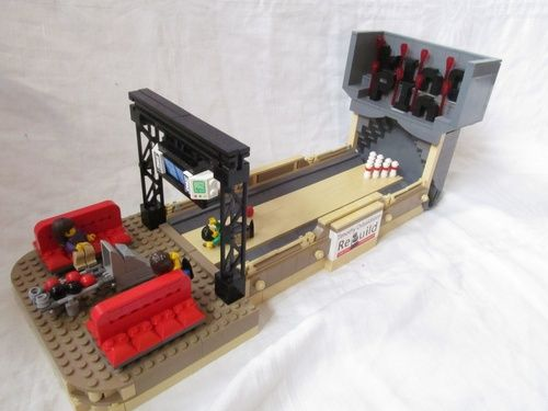 Working Bowling Alley: A LEGO® creation by The Timinater ...