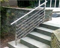 Exterior Pasamanos Pasamanos De Acero Inoxidable Para Escaleras Identificaci Oacute N Del Producto Outdoor Stair Railing Railings Outdoor Outdoor Handrail