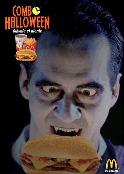 Aviso Promoción d McDonald´s para Halloween