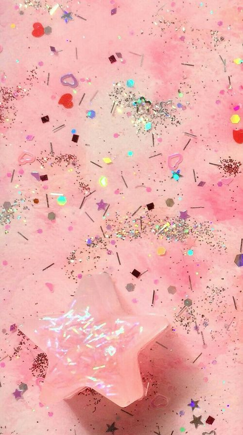 Candy Falls Live Wallpaper Background Glitter And Pink Image Phone Wallpaper