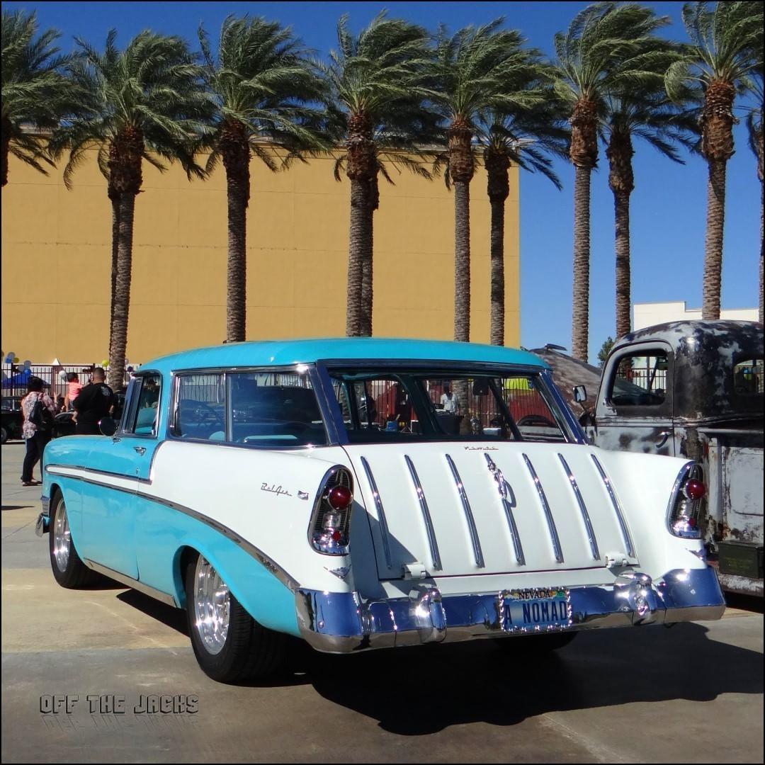 Nice Old 1956 Chevy Nomad Chevy Chevynomad Chevrolet Lasvegas