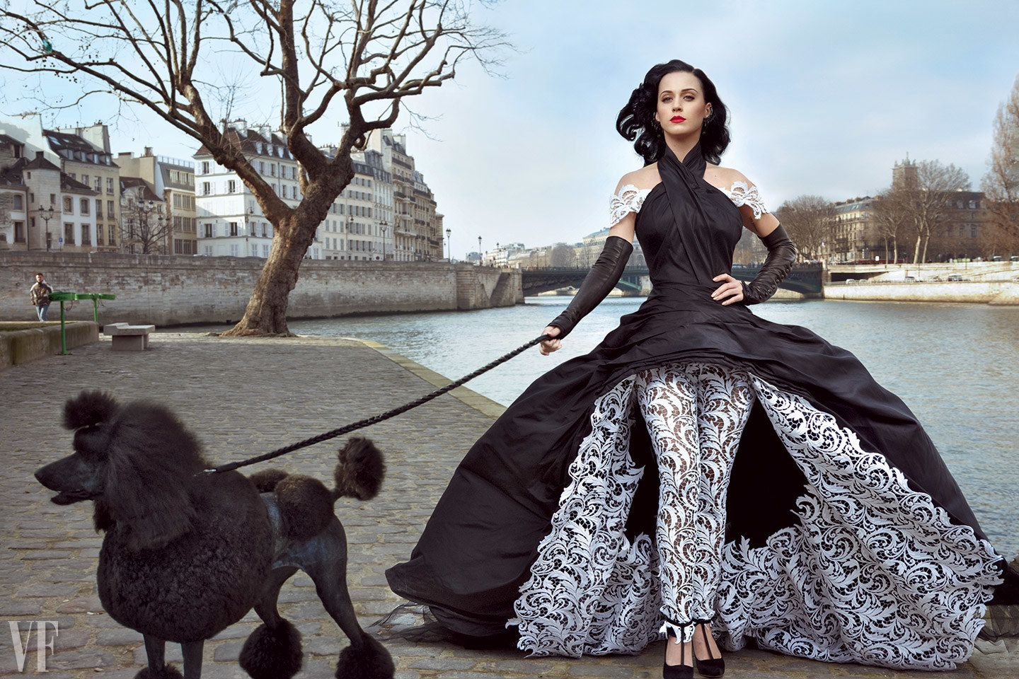 Katy Perry photo for Vanity Fair by Annie Leibovitz