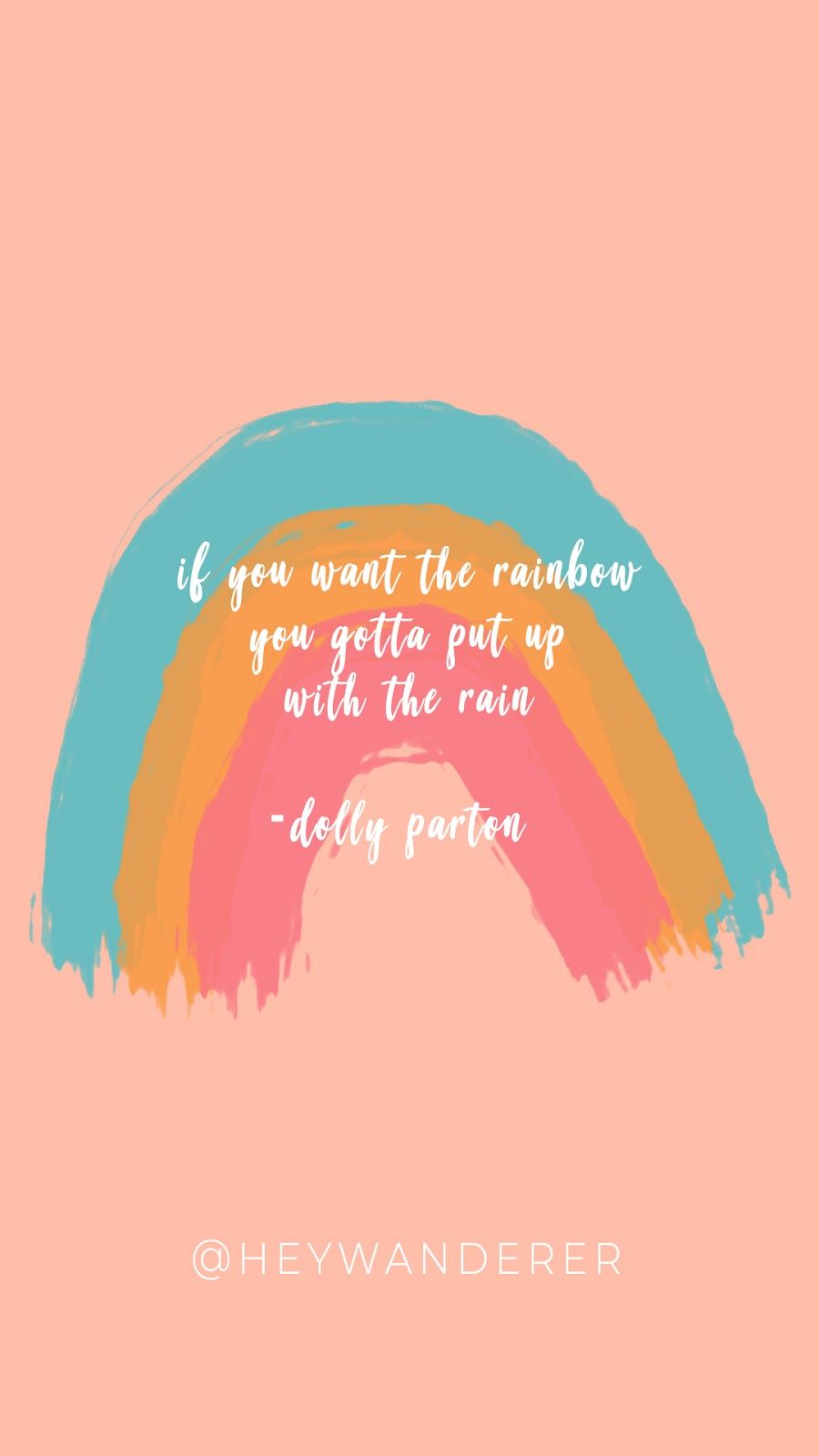 Diy Rainbow Letter Board The Best Dolly Parton Quotes Dolly Parton Quotes Rainbow Quote Everyday Quotes