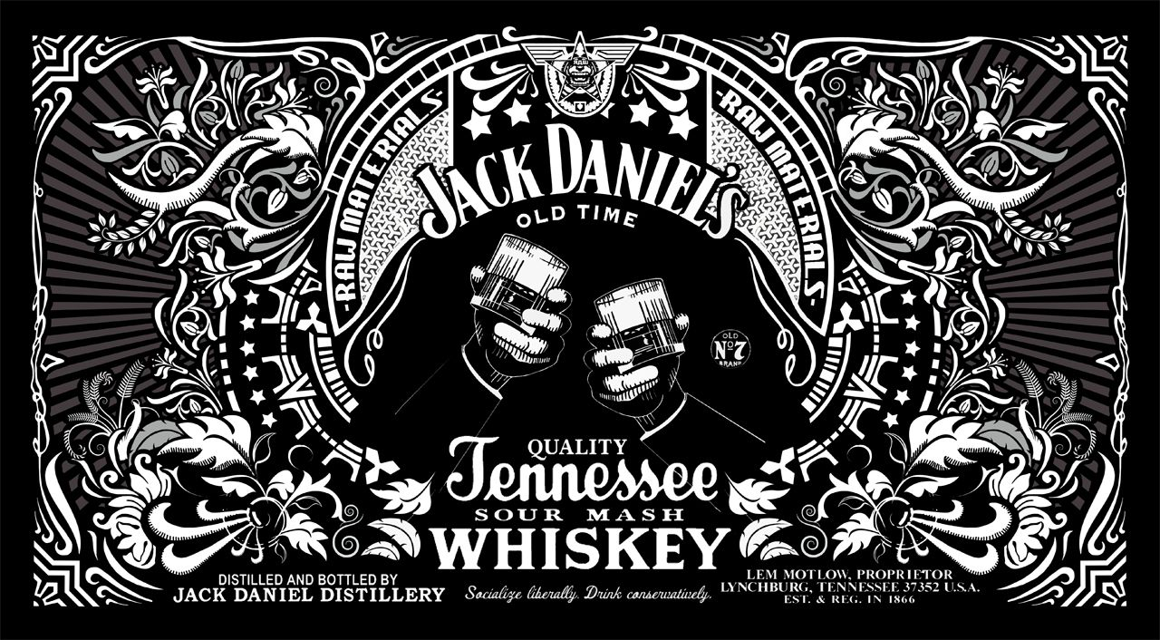 Jack Daniels logo BUCKLE 7 New floral FREE Belt whiskey liquor old no
