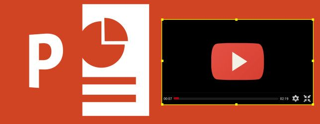 How To Embed A Youtube Video Other Media In Your Powerpoint