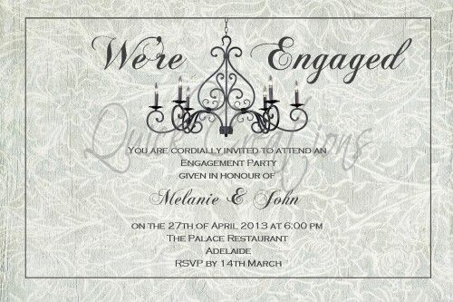 engagement invitations quick creationsquick creations printed