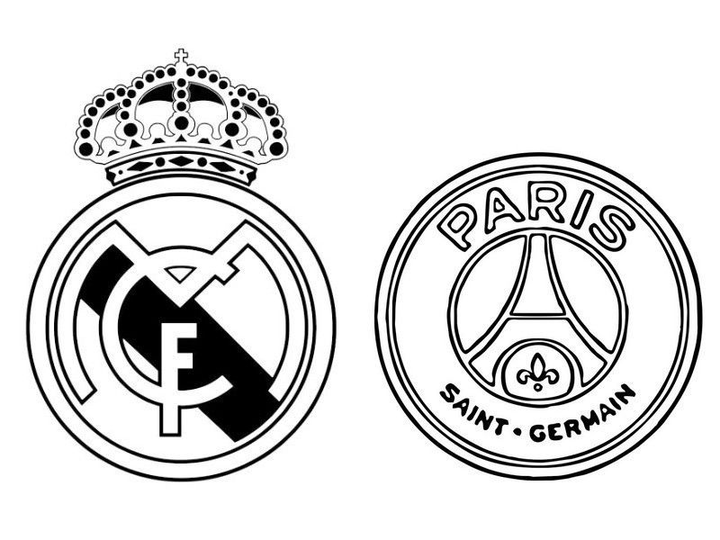 Dibujos Para Colorear Del Real Madrid Coloring Pages Color Peace Symbol