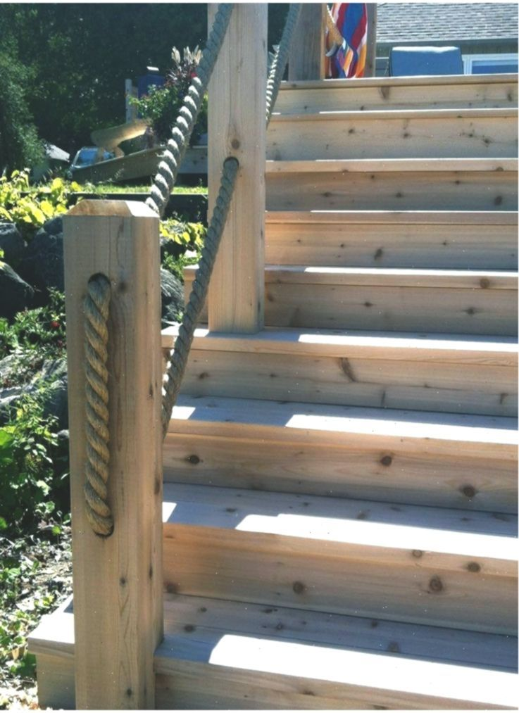 Fascinating Deck Stair Railing Lowes To Refresh Your Home Stairs | Lowes Exterior Stair Railing | Composite Decking | Matte Black Aluminum Railing | Railing Systems | Metal | Porch