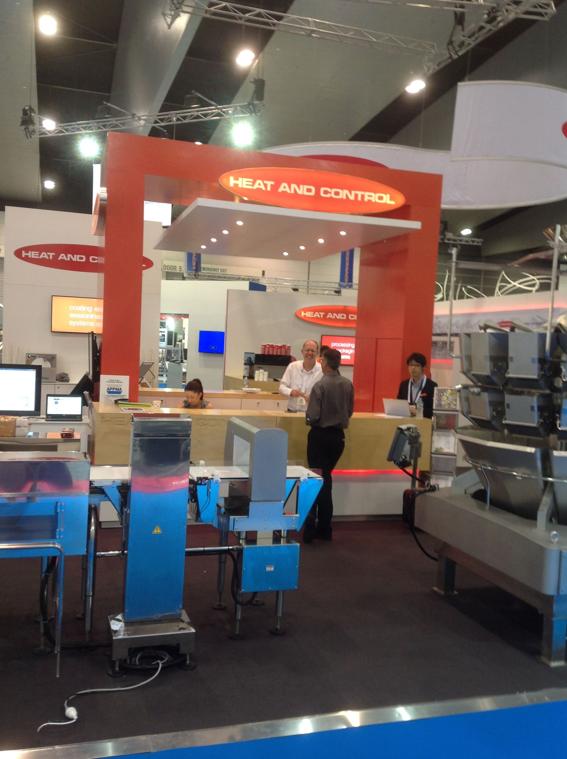 Team Cre8 ended the first quarter of 2015 in style with this amazing product display by showcased during the just concluded AUSPACK 2015 tradeshow.  Checkout our other brilliant stands that we have managed to put together this year. http://www.cre8exhibits.com.au/portfolio/