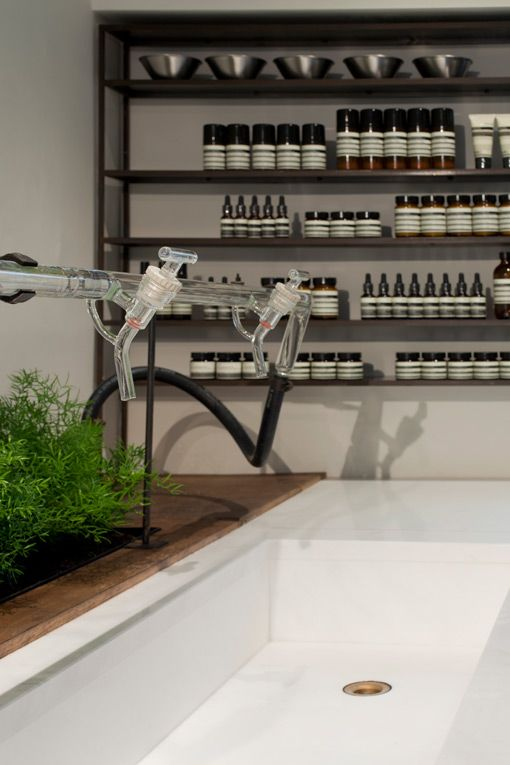 london: aesop store opening   Aesop, Faucet and Aesop store