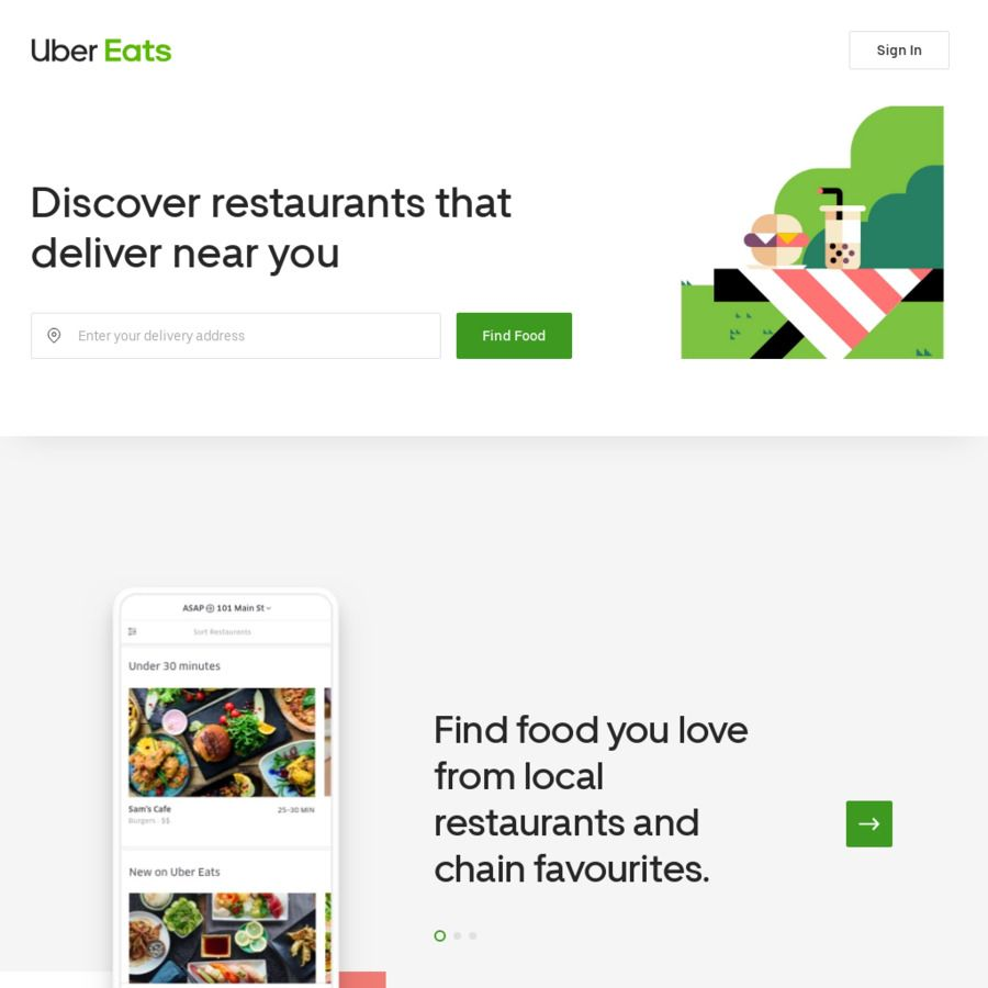 20 Off Uber Eats Order Existing Users Restaurants That