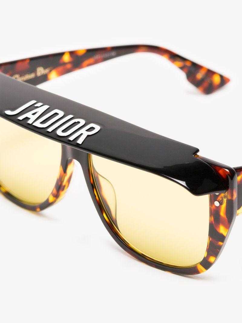 16934bb55f Club 2 tortoiseshell visor acetate sunglasses