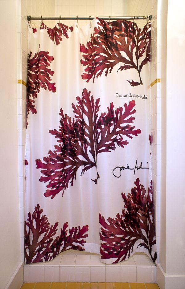 Seaweed Shower Curtain By Josie Iselinosmundeasc 1 Jpg Shower