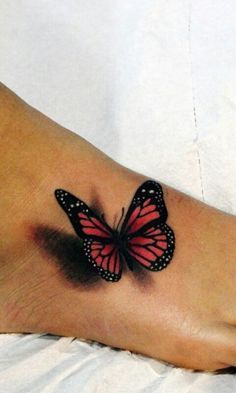 Photo of 3D Schmetterling Tattoo –  3D Schmetterling Tattoo  – #butterflytattoo #halfbutt…