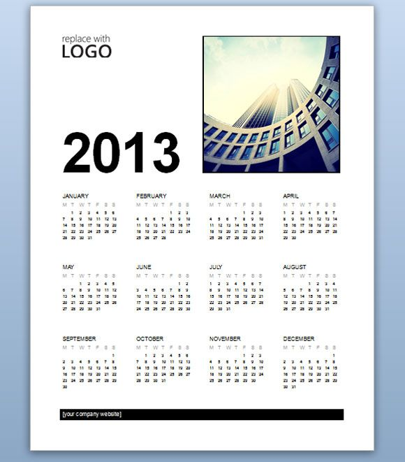 Free business calendar 2013 template for ms word 2013 powerpoint free business calendar 2013 template for ms word 2013 powerpoint presentation toneelgroepblik Choice Image