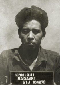 """Sadaaki Konishi was eventually captured and assigned to a group of POWs to clean up rubble around Manila. As luck would have it, he was recognized by one of the Los Baños internees at the Wack Wack Golf Club in Manila in July 1945. Konishi was tried as a Class C war criminal for the offenses of violating the laws of war. He fully admitted to the massacre of thousands of civilians and added that """"he had been conducting a war and left such mere details to his staff."""" He was hanged in Sugamo…"""