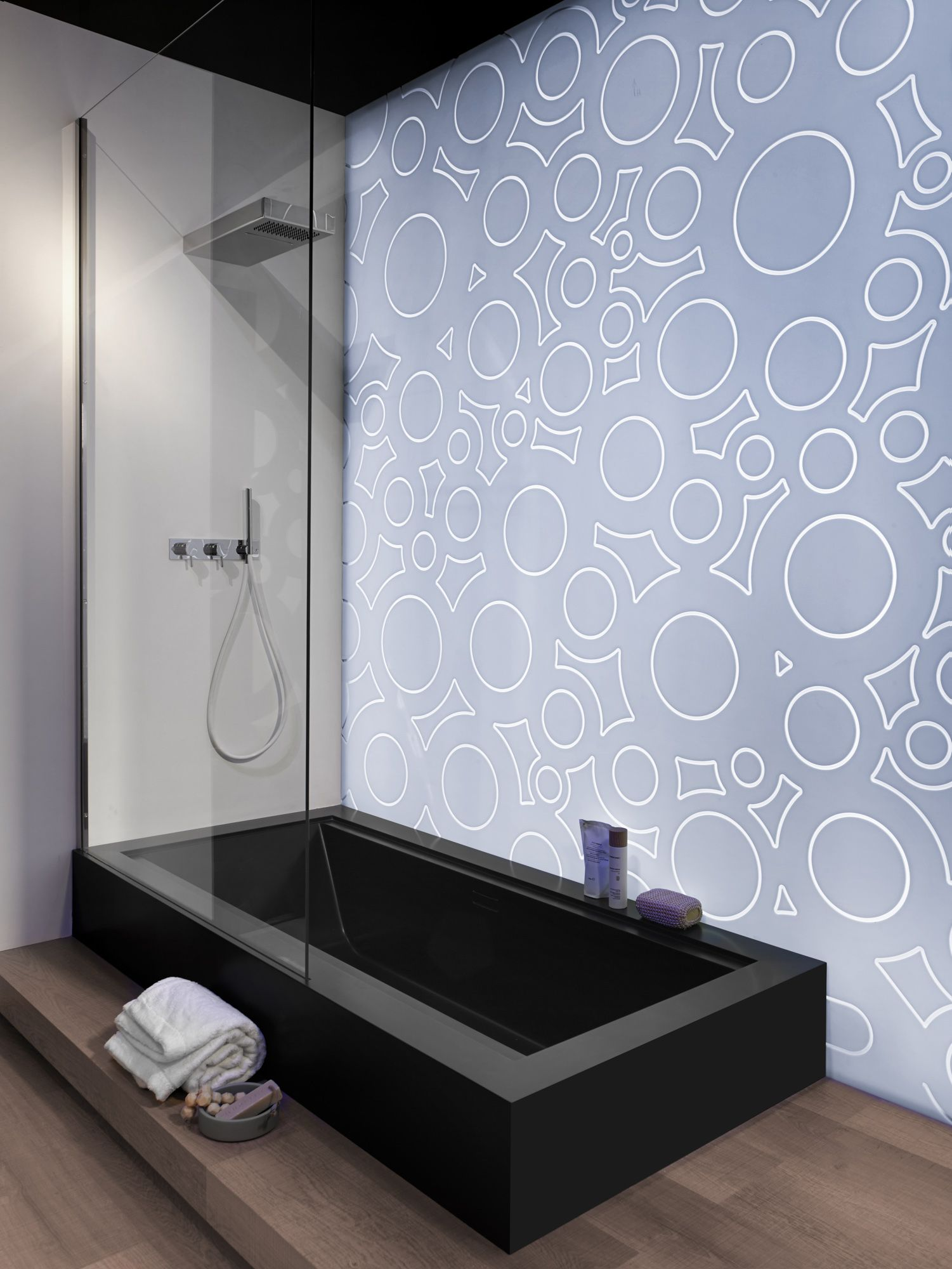 "Bathtub Shower"" design by Rexa Design, Italy; www.rexadesign.it ..."