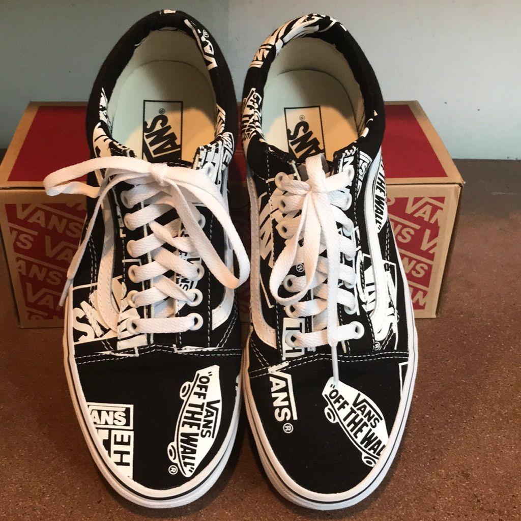 Vans, Vans old skool sneaker, Vans logo
