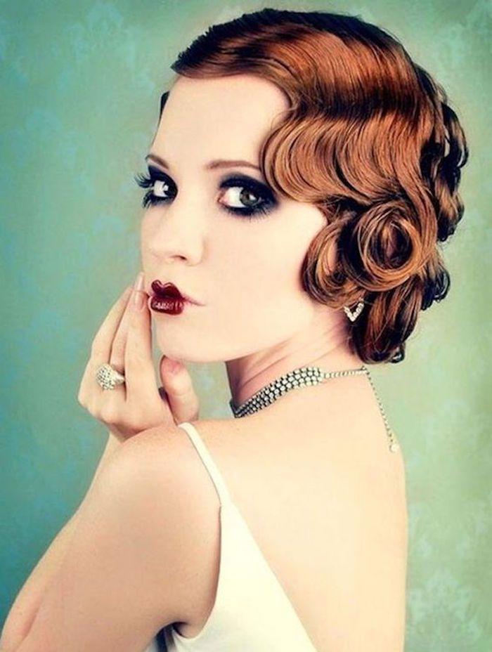 Coiffure ann e 20 le style des ann es folles cosmetics and makeup - Coiffure annees folles ...